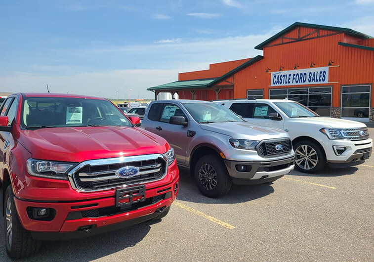 Castle Ford Sales, Pincher Creek, AB