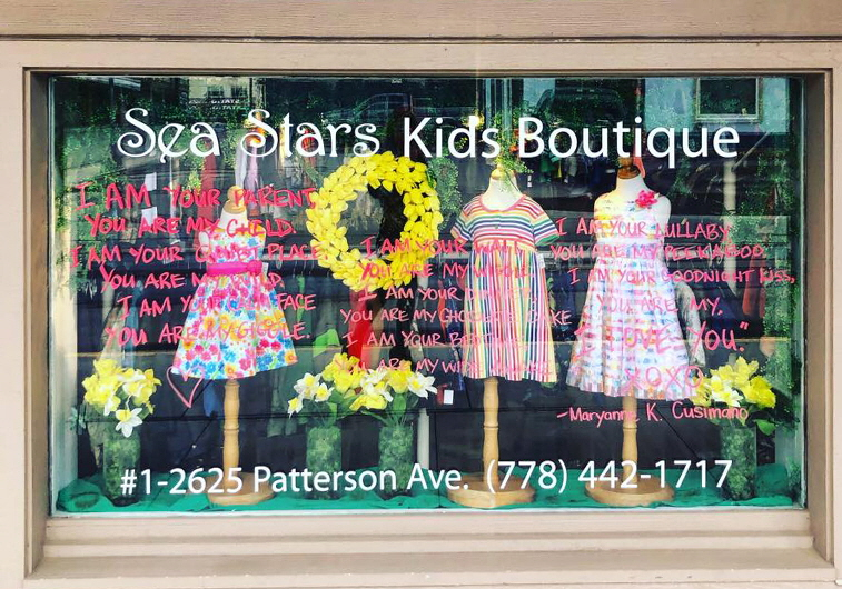 Sea Stars Kids Boutique, Armstrong, BC