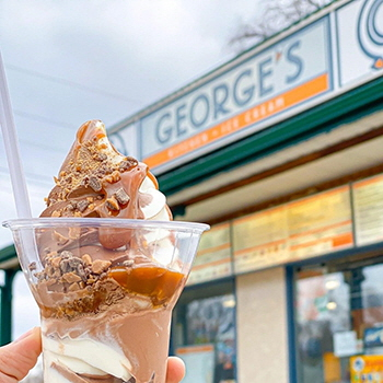 George's Kitchen + Ice Cream, Morden, MB