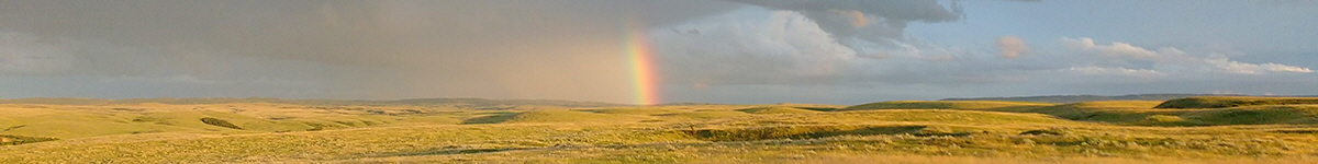 Rainbow in the prairies near Cypress Hills, Saskatchewan | Photo: Cheryl Tate, Unsplash