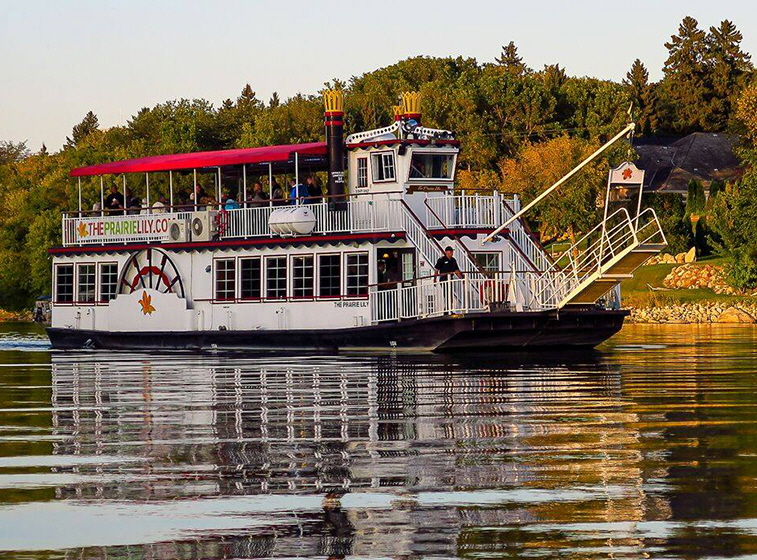 The Prairie Lily, Saskatoon's riverboat cruises