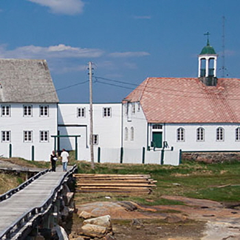 Hopedale Mission National Historic Site, Hopedale, Labrador, photo by Rob Hingston