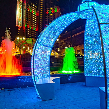 Winter Festival of Lights, Niagara Falls, Ontario